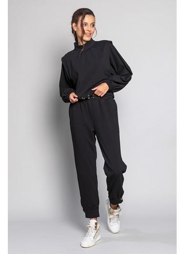 Ashleys Pantolon Siyah